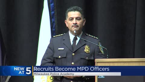 Milwaukee Police Department swears in 38 new officers